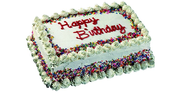 Happy Birthday–cake