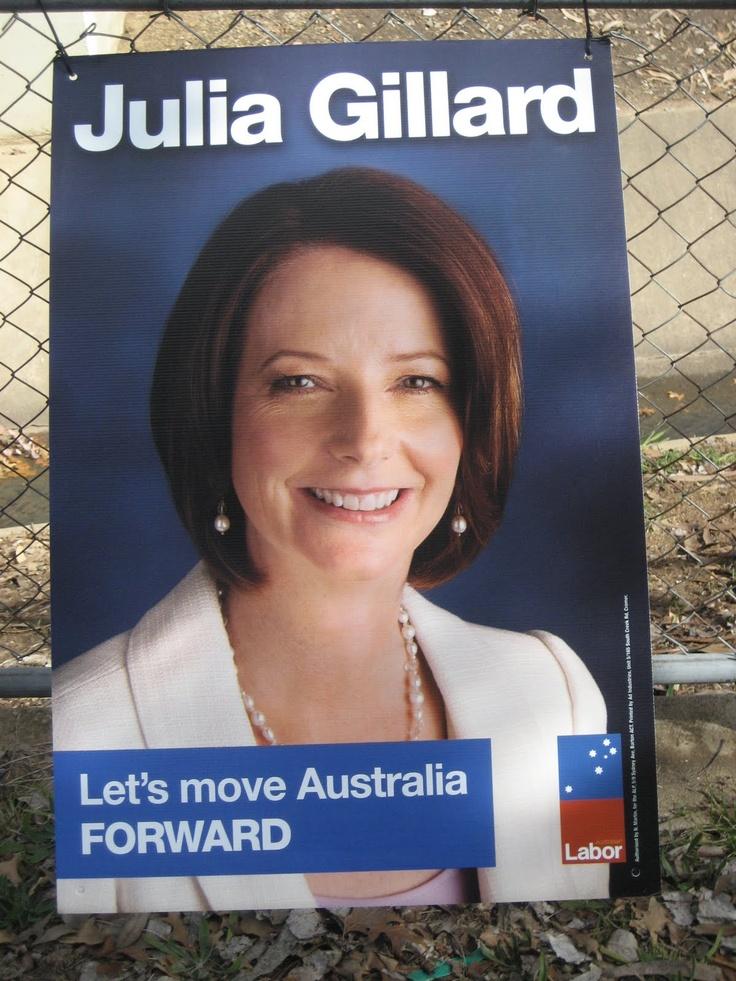 Julia Gillard, Australia