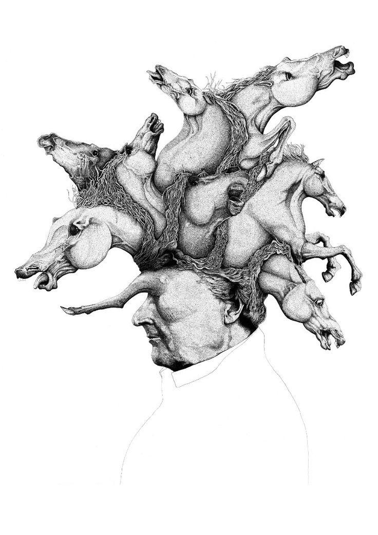 Sam Brookes #Illustration, Introvert
