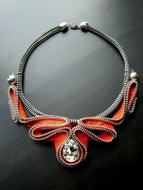 The Alien Zipper Necklace