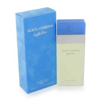D & G Light Blue By Dolce & Gabbana For Women.  Eau De Toilette Spray 3.4 Oz by Dolce & Gabbana. Save 31 Off!. $71.95. Packaging for this product may vary from that shown in the image above. This item is not for sale in Catalina Island. Introduced in 2001. Fragrance notes: rose, apple, musk and jasmine. Recommended use: casual.