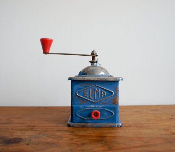 vintage french coffee grinder made by elma by FrenchAtticFinds, $36.00