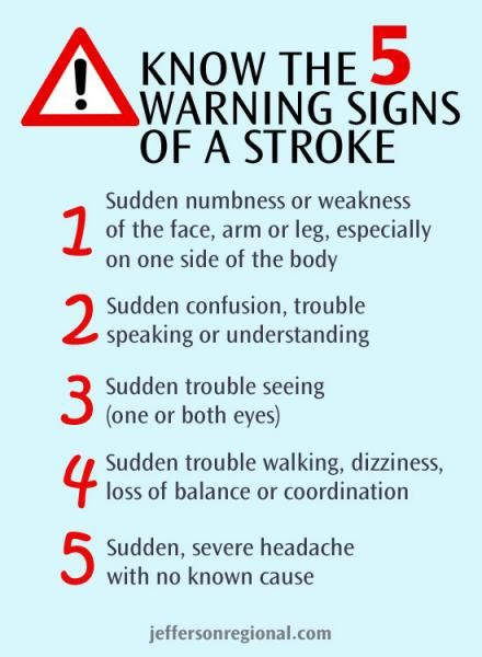 May is National Stroke Awareness Month - Know the Warning Signs | Jefferson Regional Medical Center