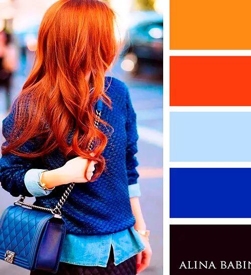 швейные сочетание цвета волос с цветом одежды фото нужно разобраться