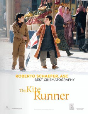 The Kite Runner  To inspire a child like Hassan. I cried through the whole movie.