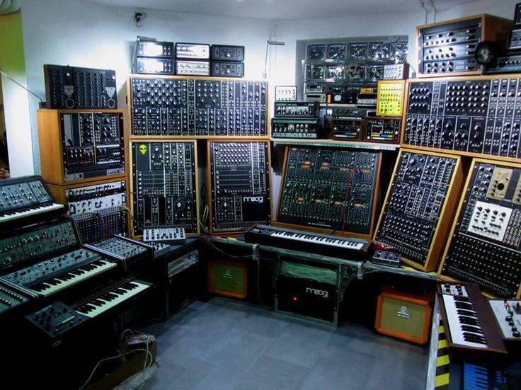 modular synth synths pinterest