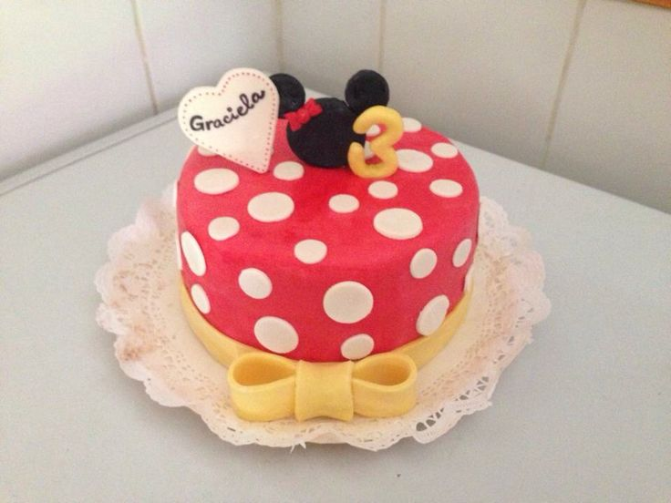 Torta minnie mouse niña - Romina Isella