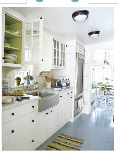 Painted Kitchen Floors Photos