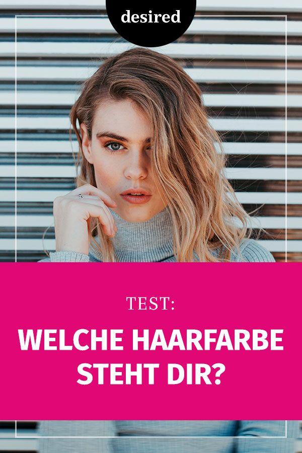 Test Welche Haarfarbe Passt Zu Mir In 2019 Frisuren Styling