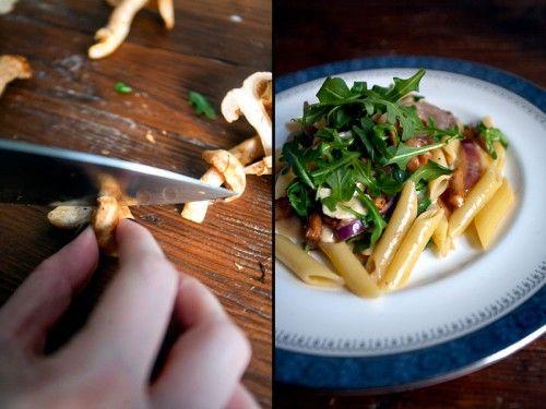 Hedgehog mushroom pasta recipes