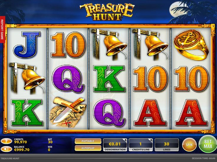 Treasure Hunt - http://freeslots77.com/treasure-hunt/ - Here is an opportunity for you to be a part of a treasure hunting team that will take you to the world of pirates, where you could win some amazing cash prizes. Spielo Gaming has designed the free Treasure Hunt online slot machine featuring 5 reels and 30 fixed paylines that will definitely give...