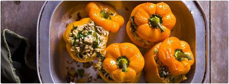 Chicken Stuffed Peppers - Steggles quality Australian chicken and turkey products