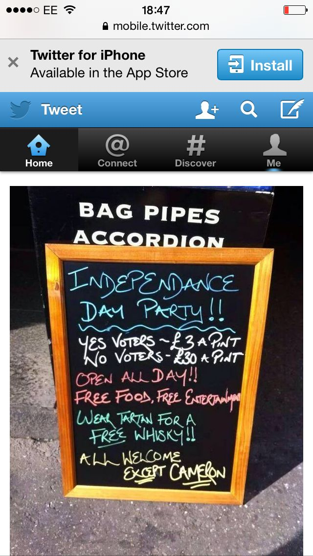 Inverness Scotland voting day 18th sep 2014