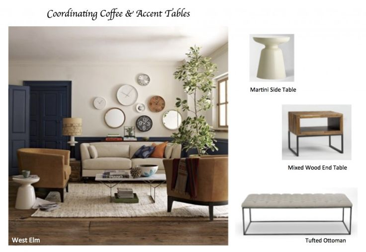 How to Coordinate Coffee & Accent Tables like a Designer   Maria Killam   True Colour Expert   Decorator