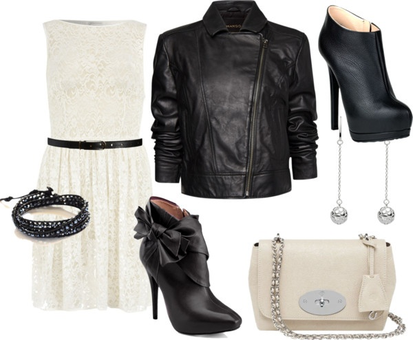 A Little Leather & Lace Brunch Kinda DayLace Brunches, Brunches Kinda, Style, Leather Lace, Leather Jackets, Nyc Brunches