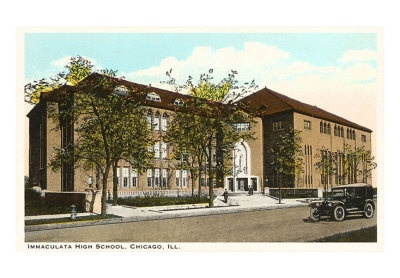 Immaculata High School At Irving Park Road And Marine