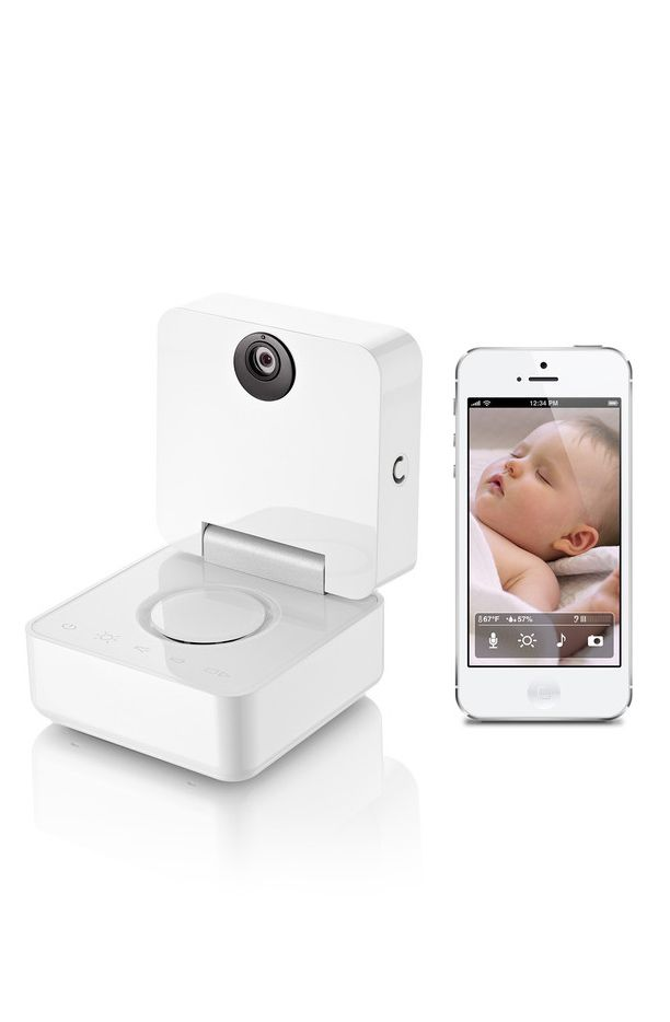 baby monitor camera instant alerts for noise motion temperature or humidity two way. Black Bedroom Furniture Sets. Home Design Ideas