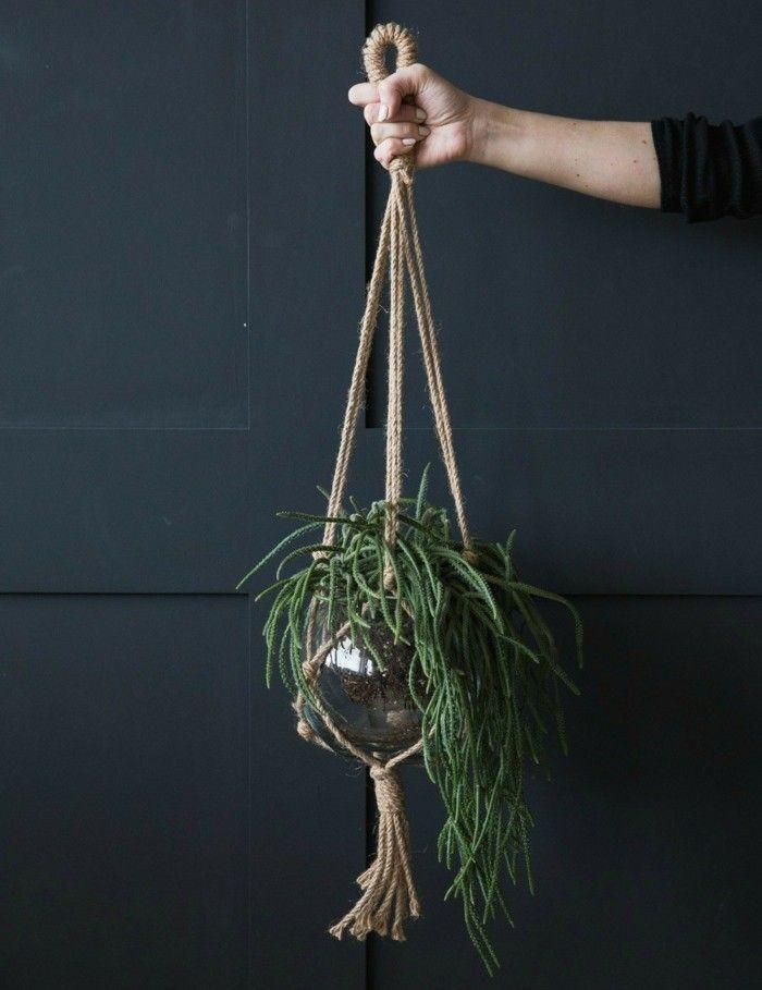 Blumenampel-selber-machen-hangekorb-59. blumenampel topfpflanzen ...
