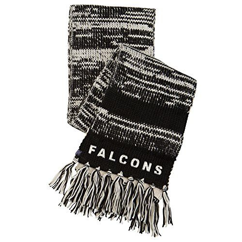NFL Atlanta Falcons Moto Marled Scarf One Size BlackWhite -- Check out this great product.