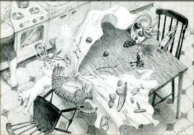 enigmas,acertijos,adivinanza visual de pensamiento lateral,el raton,