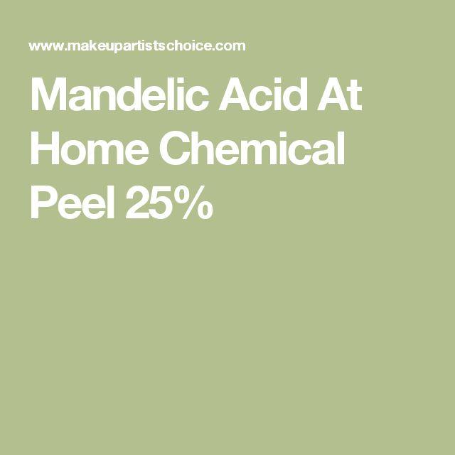 Mandelic Acid At Home Chemical Peel 25%