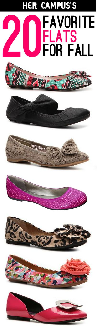 Check out our favorite flats for fall! We have great picks in every price range.: Shoes, Colleges Life, Fashion, Comfy Flats, Fall 2013, Styles, Fall 2014, Colleges Students, Colleges Shtuff
