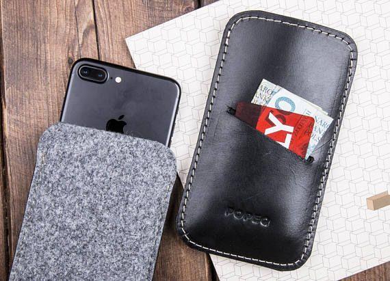 Leather iPhone Sleeve Iphone Case Leather Phone Sleeve