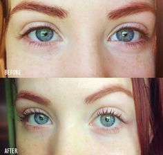 """Create your own clear """"mascara"""" using only two natural ingredients. This super simple tutorial also provides tips on curling eyelashes and getting longer, thicker lashes. Check it out."""