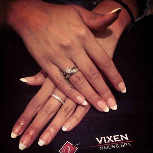 Classic French Shellac with rounded tips