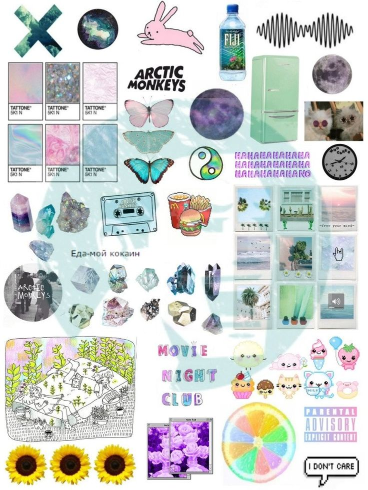 Set #249. Mockup printable Tumblr Stickers, Stickers, Sets ...