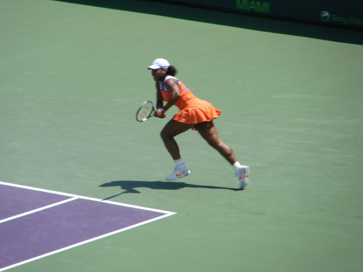 Sarena Williams - Tennis Match Erickson Open - Miami FL