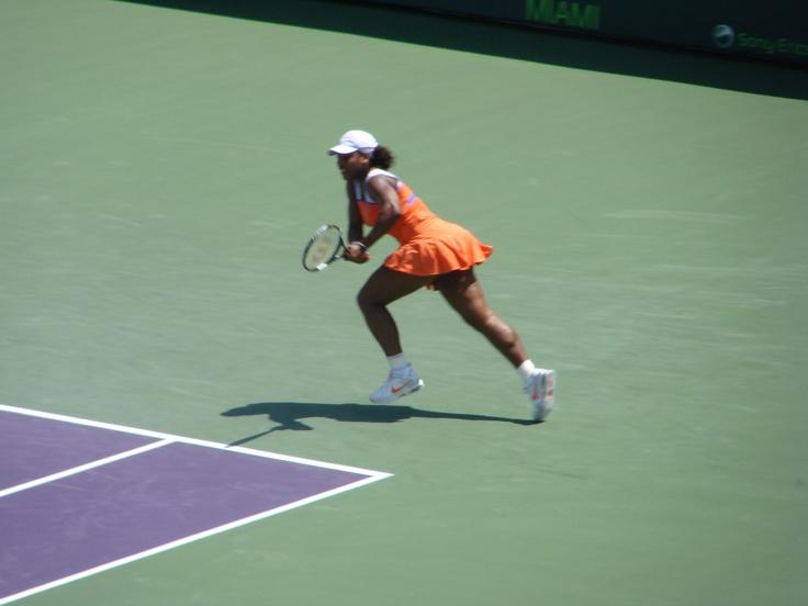 Sarena Williams - Tennis Match   Erickson Open - Miami FL