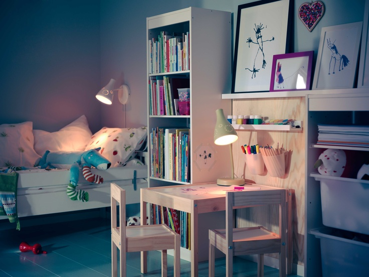Charming Kid Bedroom Design And Decoration With Various Ikea Kid Shelf Engaging Kid Bedroom Decoration Using Floor Standing White Wood Ikea Kid Shelf