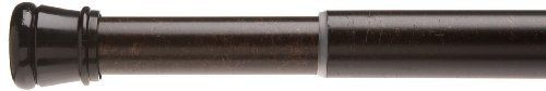 Carnation Home Fashions Adjustable 41to76Inch Steel Shower Curtain Tension Rod Bronze *** To view further for this item, visit the image link. Note:It is Affiliate Link to Amazon.