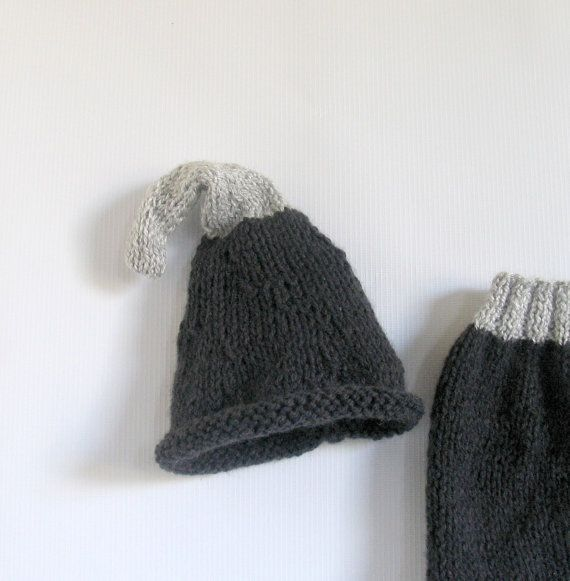 newborn pants and hat set / Hat and Pants by recyclingroom on Etsy