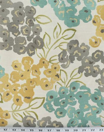 Robert Allen luxury floral pool | Luxury Floral Pool | Online Discount Drapery Fabrics and Upholstery ...