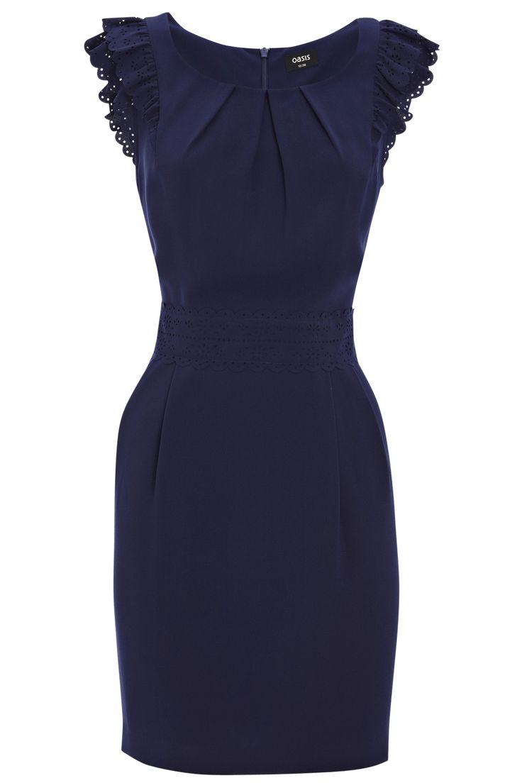 Little blue dress. yes please