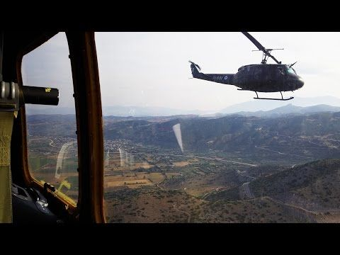 Hellenic Army Aviation UH – 1H Helicopters in Action   ΑΕΡΟΠΟΡΙΑ ΣΤΡΑΤΟΥ