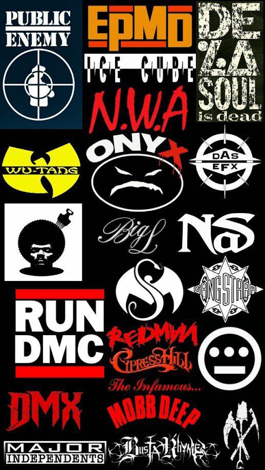 Hip Hop Logo Iphone 5 Wallpaper