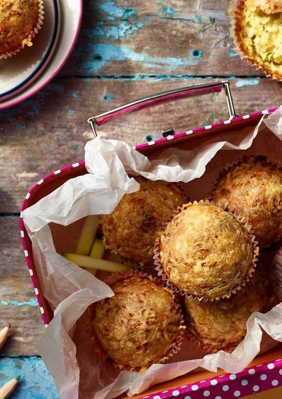 Muffiny z cukinią, tuńczykiem i serem. Kuchnia Lidla - Lidl Polska. #lidl #muffiny