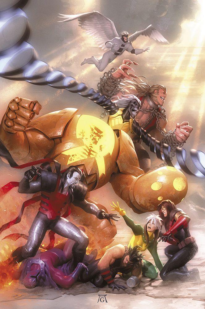 Age of Apocalypse #5 - Cover Art Based on Albrecht Durer's The Four Horsemen. •Alex Garner