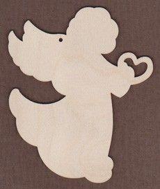 WT1001-Laser cut angel from Jamie Mills-Price Book Between The Vines #9