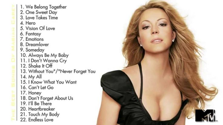 Best Songs Of Mariah Carey | Mariah Carey's Greatest Hits