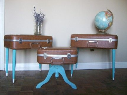 6 Ways To Repurpose Suitcases