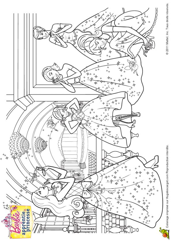686 best images about coloring book pages on pinterest - Princesse a colorier ...