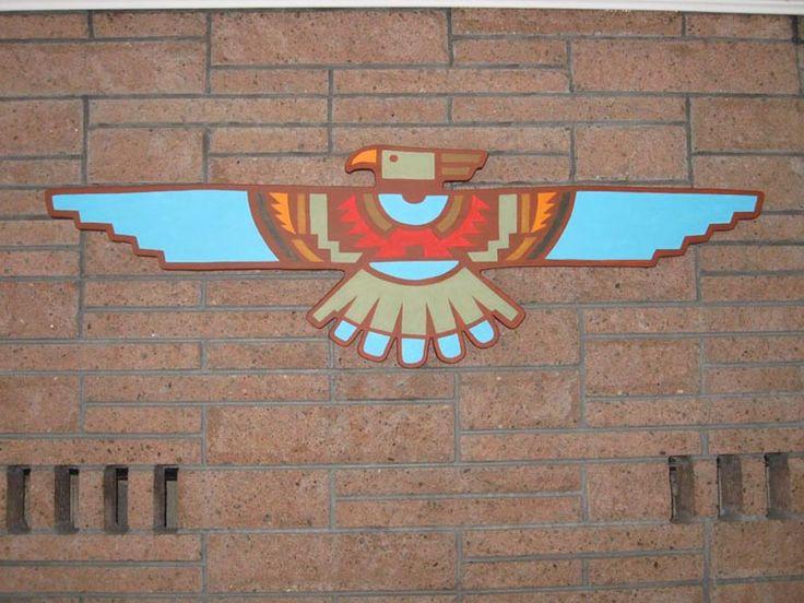 Gallery For > Native American Thunderbird Design