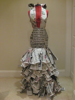 Fashion Futures: Vogues Paper Dress Competition