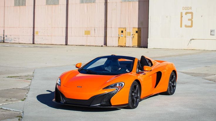 A rigid carbon fiber body and adaptive dampers give the 2015 McLaren 650S extraordinary grip in the turns, yet also make it reasonable to drive on city streets. The 3.8-liter V-8 engine produces enormous but manageable power thanks to two big turbochargers and a smooth-shifting transmission.