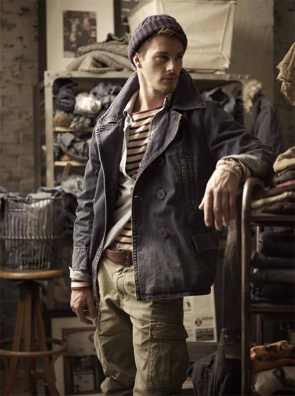 Apparently this outfit was cooked up by the Ralph Lauren stylists, and It's not a bad utilitarian look -  even if the pricing isn't in line with the visuals. However, Kevin Rowlands and Dexy's Midnight Runners got there first - about 35 years ago... How cutting edge is that?