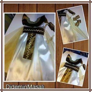 Didem'in Masalı kleopatra kostümü, doğum günü elbiseleri, doğum günü kıyafetleri, kleopatra kostümü